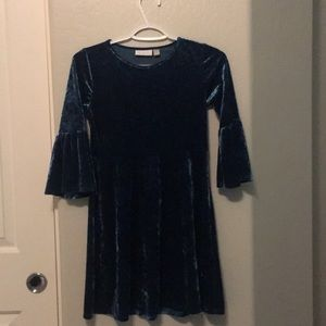 Green/blue brand new kids dress
